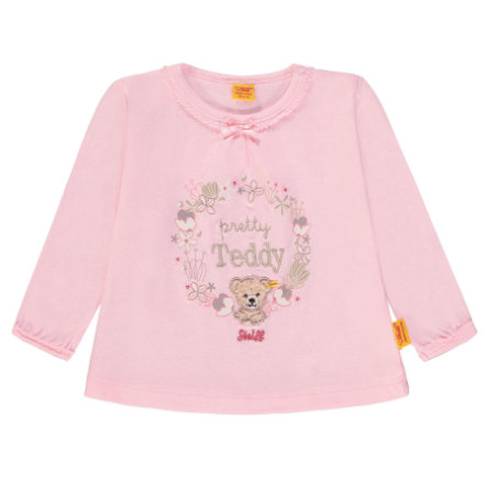 Steiff Girl s Chemise à manches longues rose