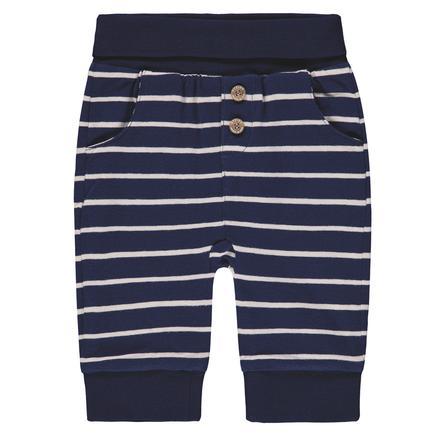 Steiff Boys Jogginghose, blau gestreift