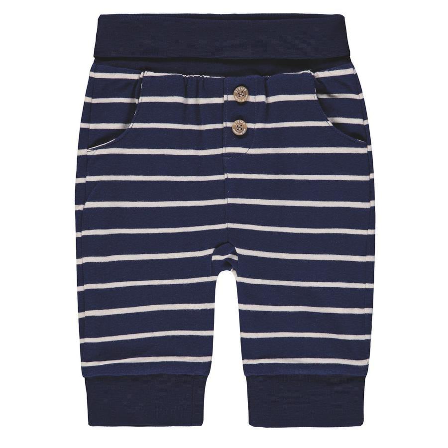 Steiff Boys pantaloni da tuta, a righe blu