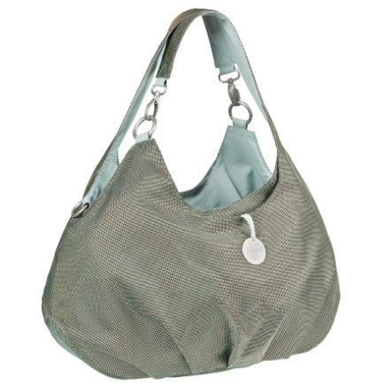 LÄSSIG Goldlabel Luiertas Shoulder Bag Design Metallic Frosty