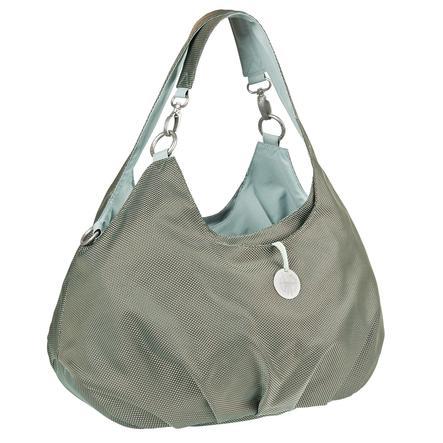 LÄSSIG Goldlabel Nappy Bag Shoulder Bag Design Metallic Frosty