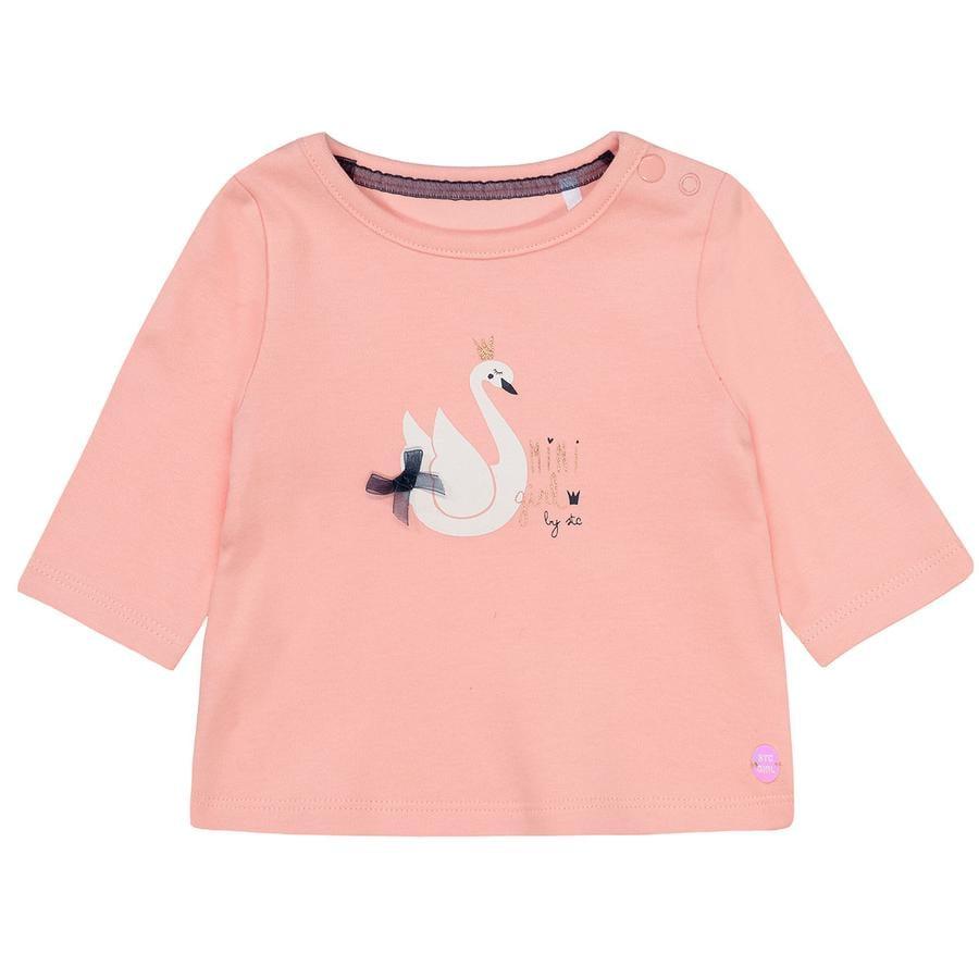 STACCATO Girls Langarmshirt rosa