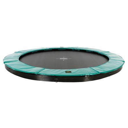 EXIT Supreme groundlevel trampoline ø305cm - groen