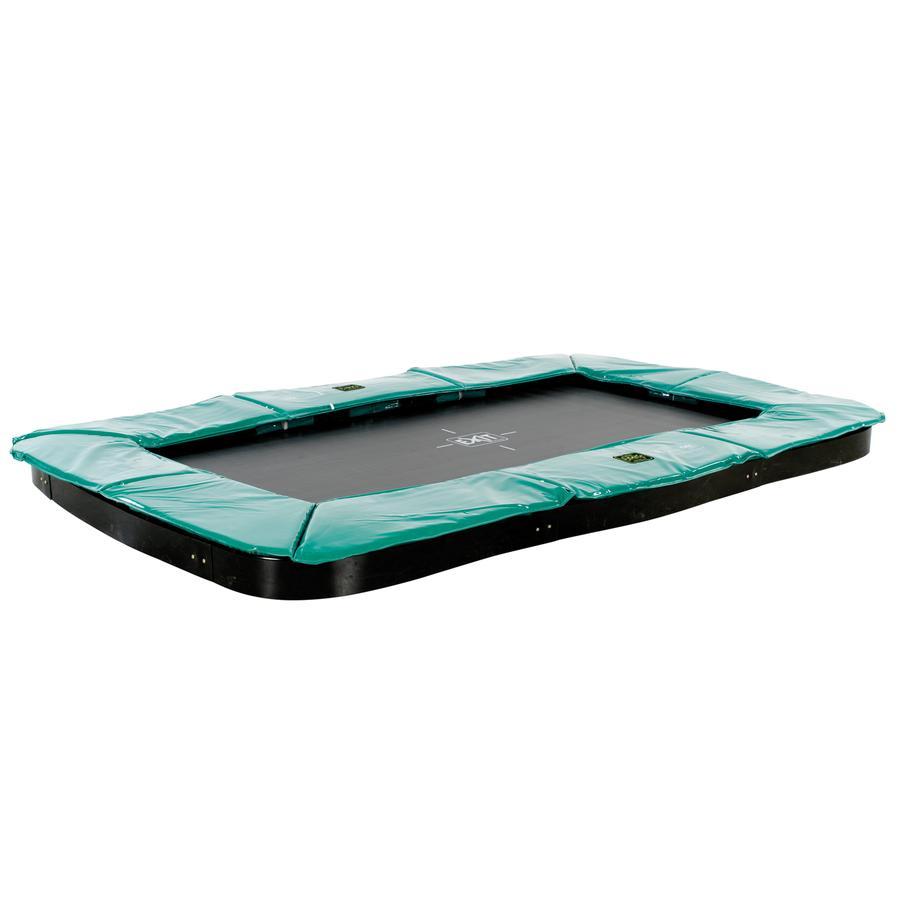 EXIT Trampolína Supreme 214 x 366 cm - tmavě zelená