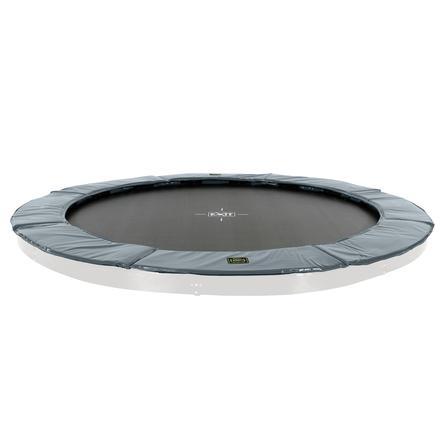 EXIT floor trampolino Supreme ø366cm - grigio