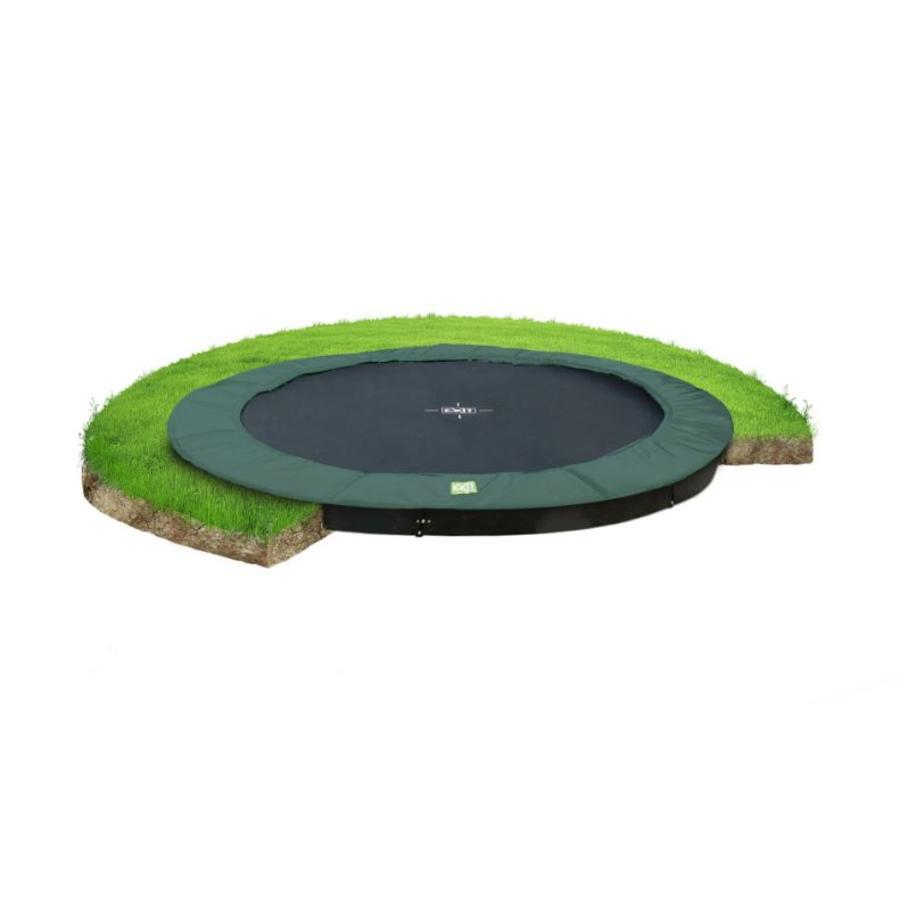 EXIT trampolína InTerra ø305 cm - zelená