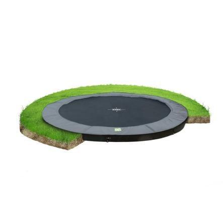 EXIT trampolina na poziomie gruntu W Terra ø305cm - szary