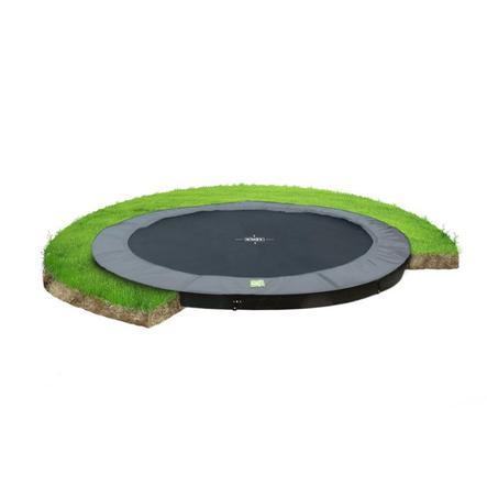 EXIT trampolina na poziomie gruntu W Terra ø366cm - szary