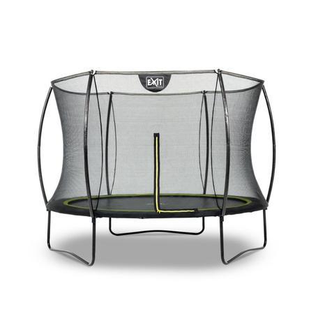 EXIT trampolin silhuet Ø 244cm - sort