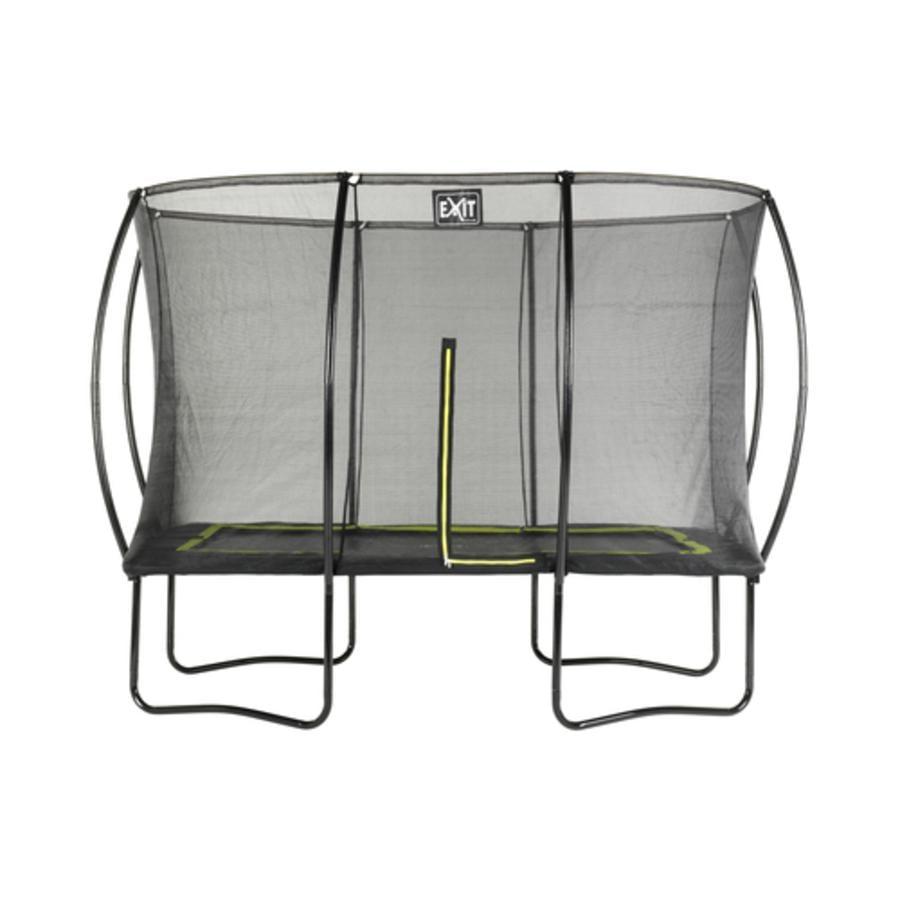 EXIT Trampolin Silhouette Rechteckig 214x305 cm - schwarz