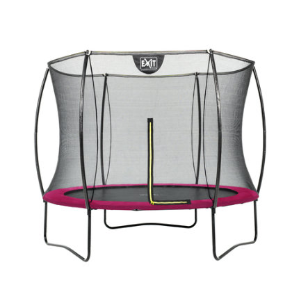 Sylwetka trampoliny EXIT ø244cm - różowa