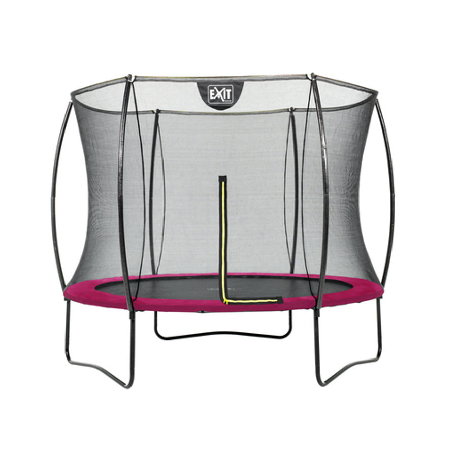 EXIT Trampolina Silhouette ø244cm - rosa