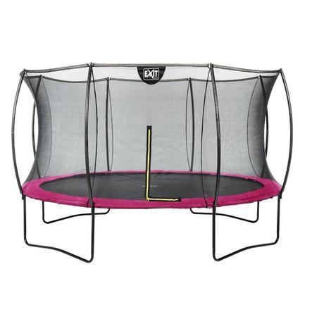 EXIT Cama elástica Silhouette ø366cm - rosa