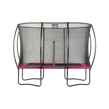 EXIT Trampolin Silhuet Rektangulær 214x305 cm - lyserød