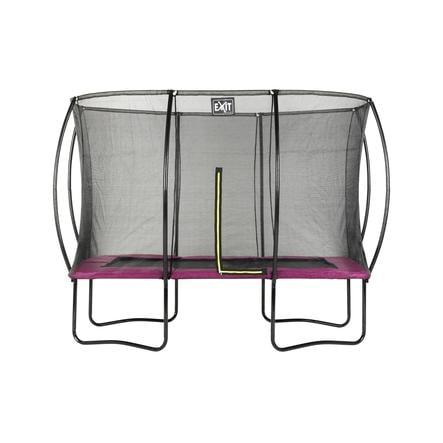 EXIT trampolína Silhouette čtvercová 214 x 305 cm - růžová
