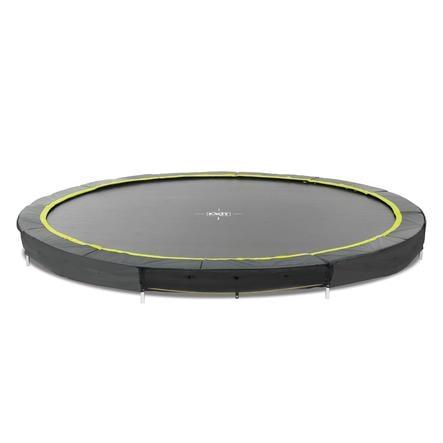 EXIT Silhouette inground trampoline ø366cm - zwart