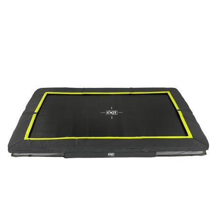 EXIT Bodentrampolin Silhouette Rechteckig 244x366 cm - schwarz