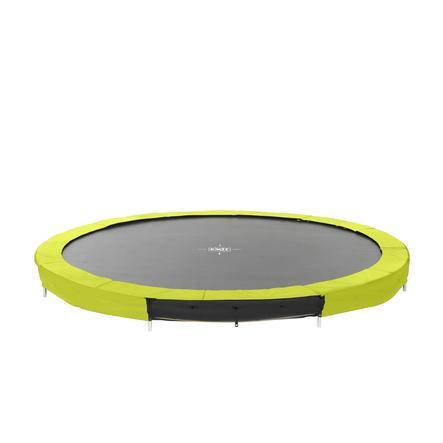 EXIT Silhouette inground trampoline ø366cm - groen