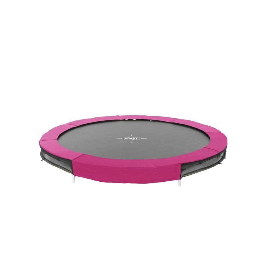 EXIT Bodentrampolin Silhouette ø244cm - rosa