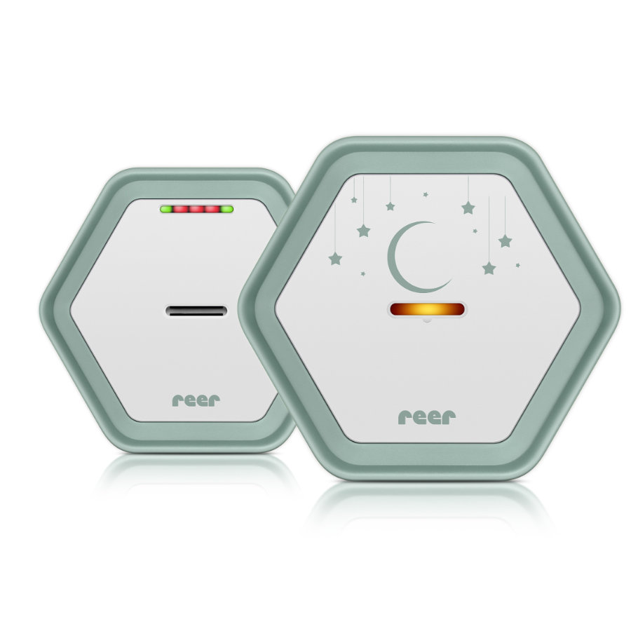 REER Itkuhälytin BeeConnect Digital, vihreä/valkoinen
