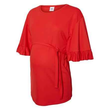 mama licious Koszula Circumstance MLMAIBRIT chiński czerwony
