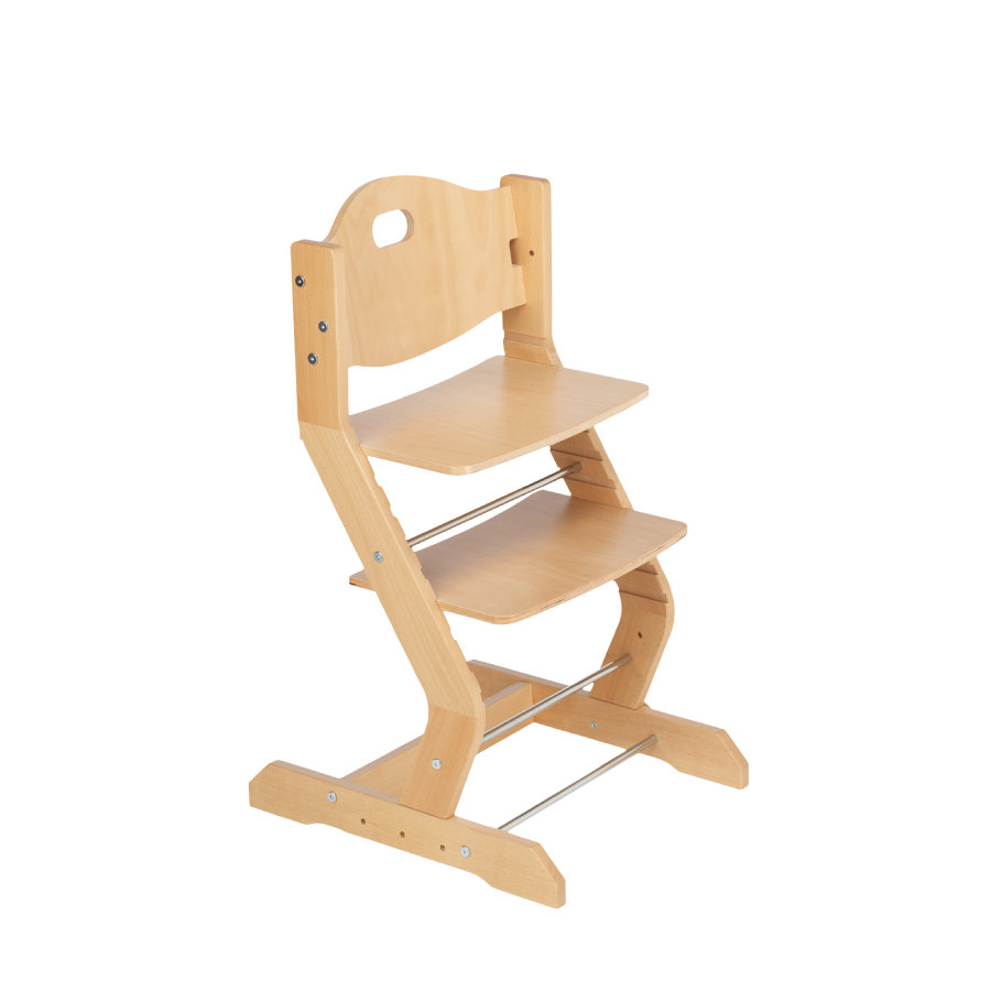 tiSsi® jídelní židlička natur