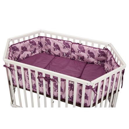 tiSsi® Tour de parc bébé animaux violet