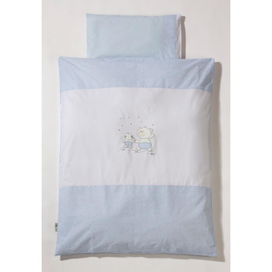 Easy Baby Komplet pościeli 100/135 Stars & Friends kolor niebieski