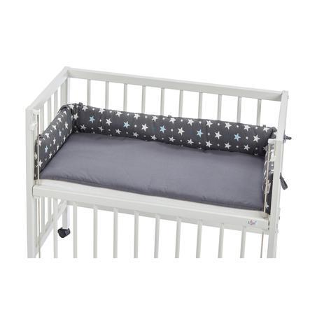 tiSsi® Tour de lit cododo étoiles gris