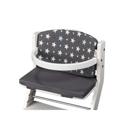tiSsi® Coussin d'assise de chaise haute enfant gris