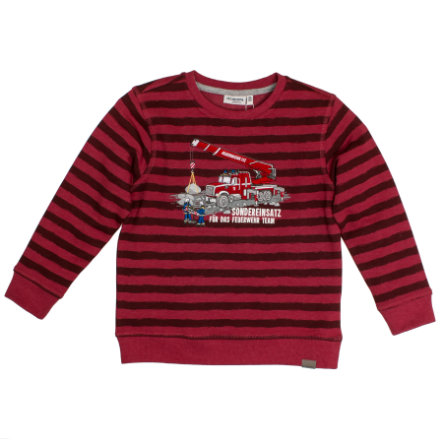 SALT AND PEPPER Boys Sweatshirt chili red melange