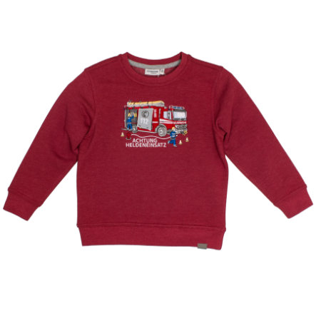 SALT AND PEPPER Boys Sweatshirt Rescue chili red melange