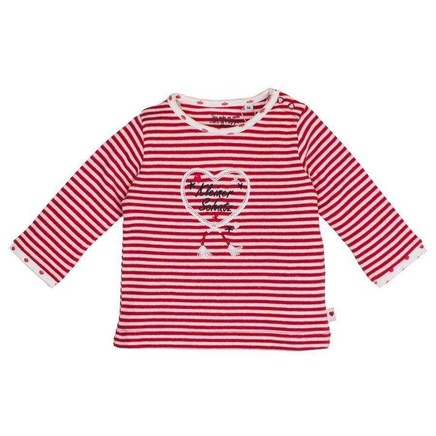SALT AND PEPPER Overhemd met lange mouwen schat aan lichte lippenstift rood
