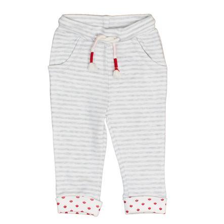 SALT AND PEPPER Pantalone felpa grigio chiaro melange