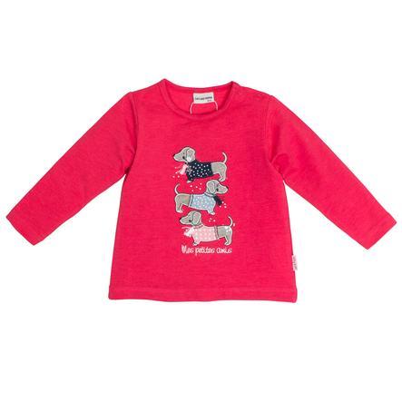 SALT AND PEPPER Girl s Shirt met lange mouwen Mon Amie Dogs paradijselijk roze