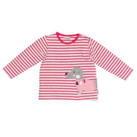 SALT AND PEPPER Girls Langarmshirt Mon Amie stripe paradise pink