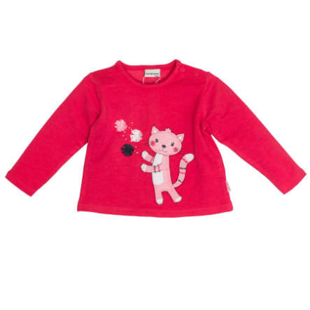 SALT AND PEPPER Girls Sweatshirt Mon Amie Katze paradise pink