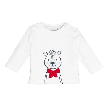 SALT AND PEPPER Koszula z długim rękawem Niedźwiedź biały