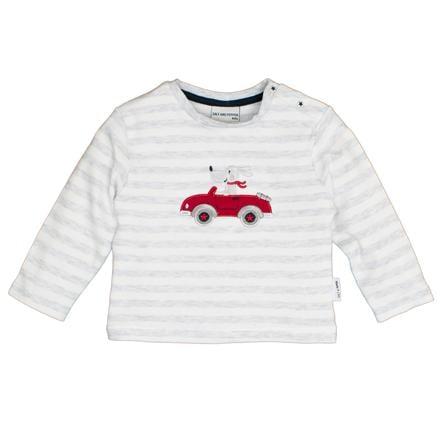 SALT AND PEPPER  Långärmad skjorta Björnrand ljusgrå melange