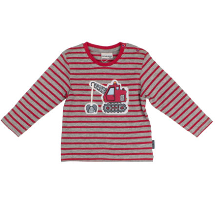 SALT AND PEPPER Boys Koszulka z długim rękawem Little Man Stripe paprika melange
