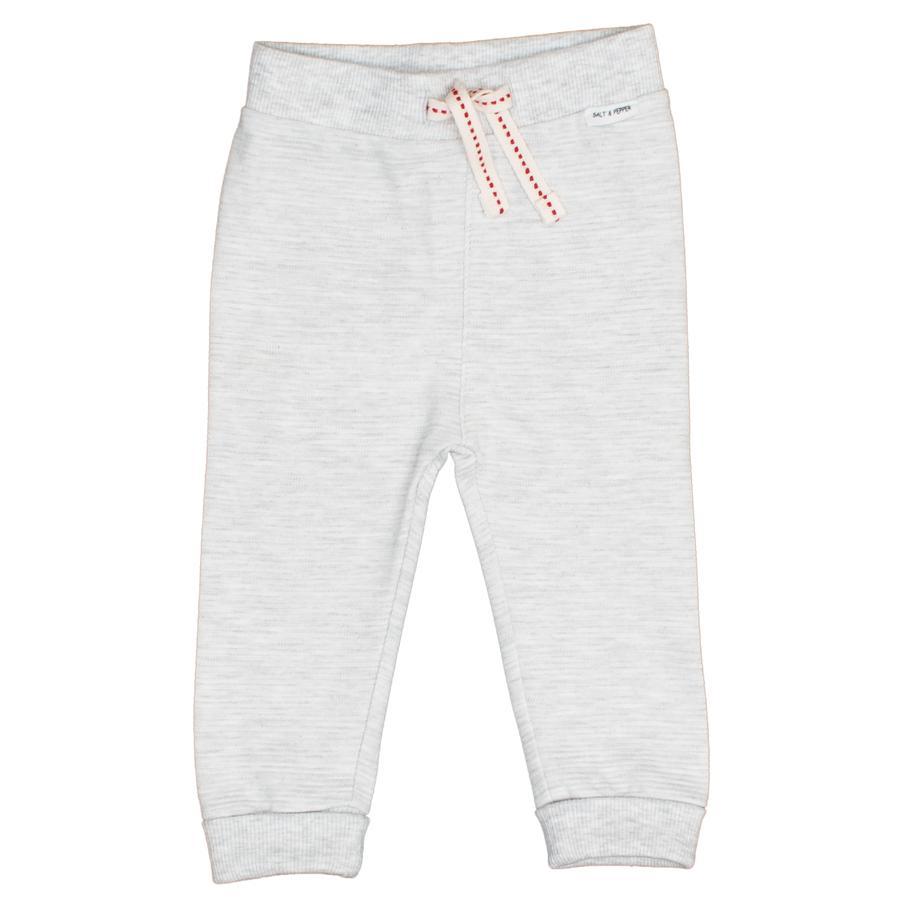 SALT AND PEPPER Pantaloni da sudore Orso grigio chiaro melange grigio chiaro melange