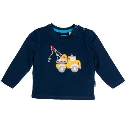 SALT AND PEPPER Langermet skjorte kran ekte blå