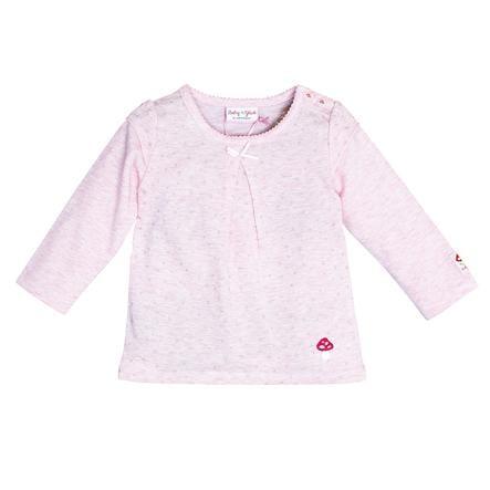 SALT AND PEPPER Szczęście dla dziecka Koszula z długim rękawem, słodka róża melanżowa