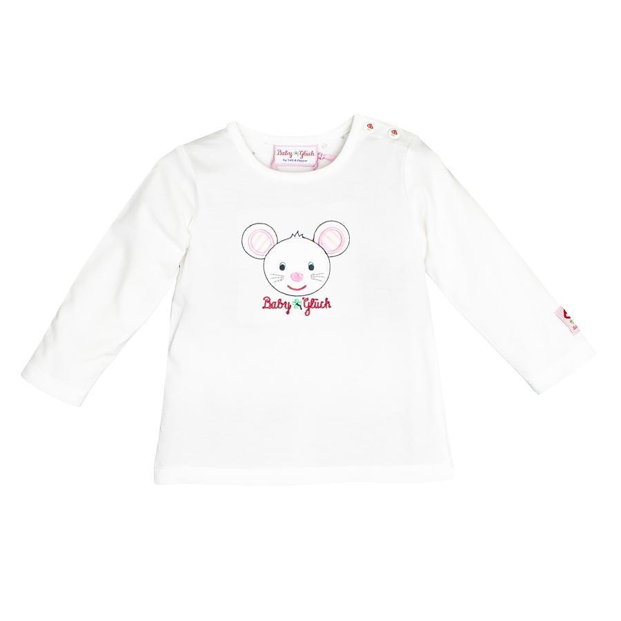 SALT AND PEPPER Camisa manga larga Baby luck blanca
