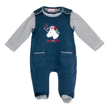 SALT AND PEPPER Playsuit Babyglück indigo blue melange