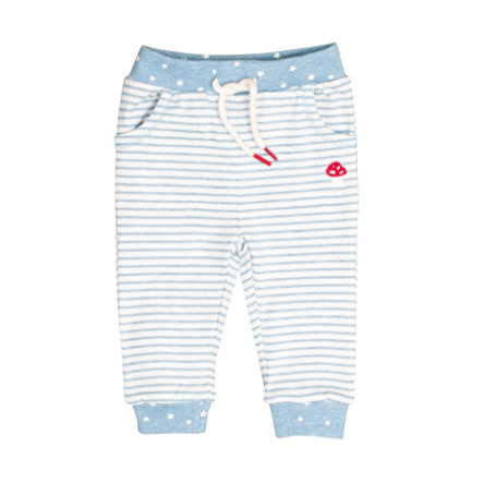 SALT AND PEPPER BabyLucky Sweatpants lichtblauw gemêleerd BabyLucky Sweatbroek