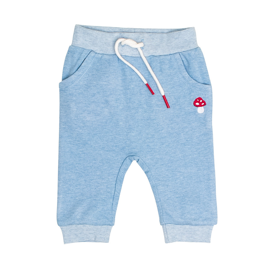 SALT AND PEPPER BabyGlück Jogginghose light blue melange