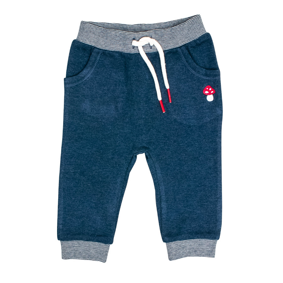 SALT AND PEPPER Pantalon de jogging bébé chance indigo bleu melange