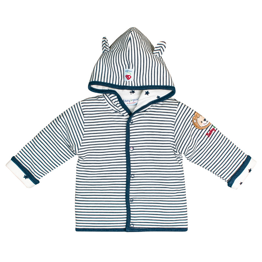 SALT AND PEPPER BabyGlück Sweatjacke indigo blue melange