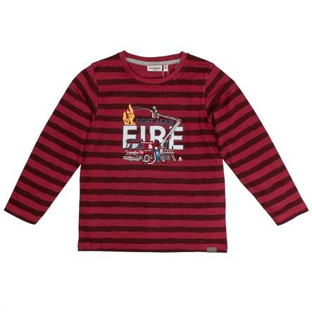 SALT AND PEPPER Koszula z długim rękawem Rescue Stripe Chilli Red